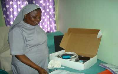 Visit to Medical Missionaries of Mary Clinic