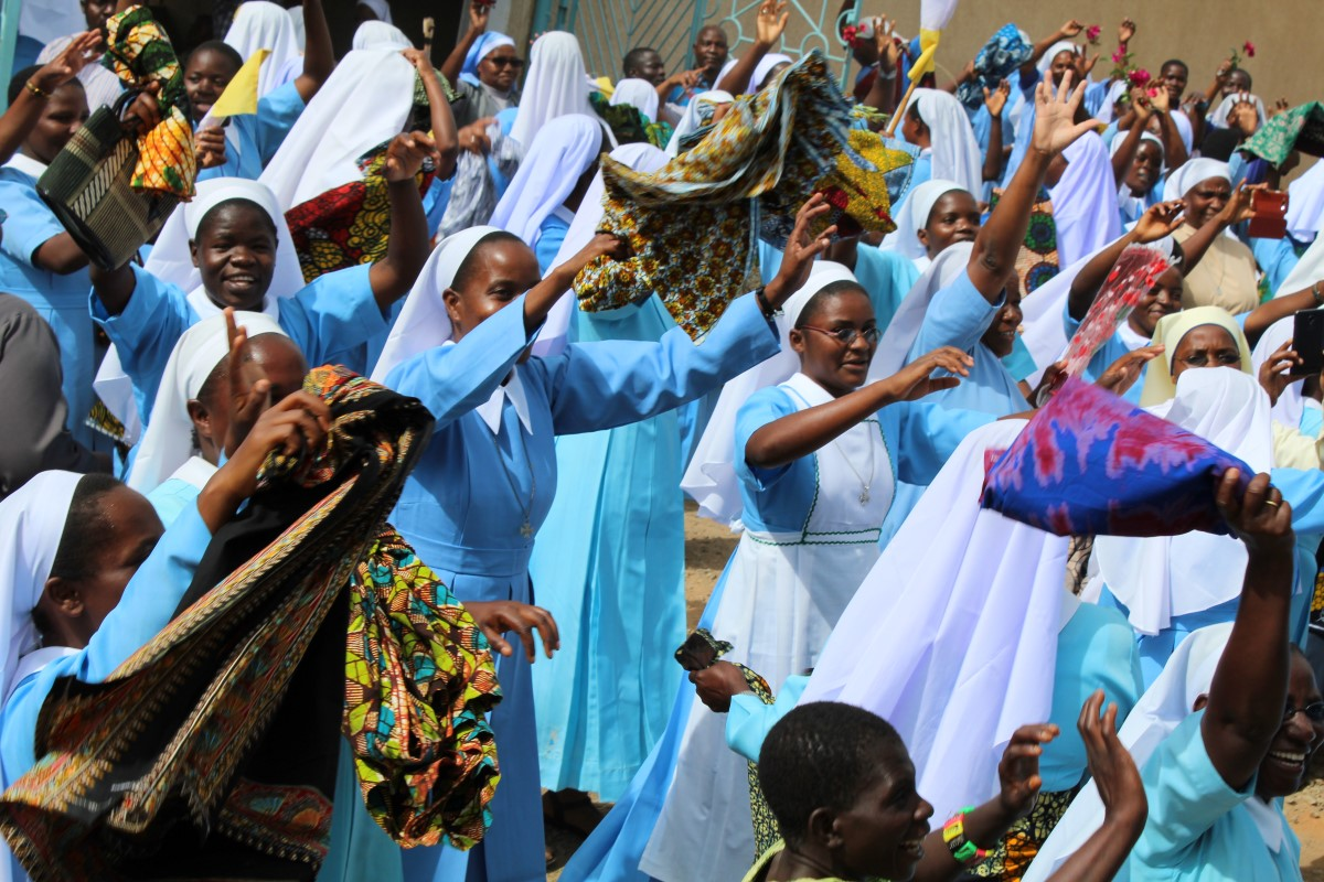 Sisters, with delight, welcome Tanzanian Superiors to the Sumbawanga Sisters Mother House